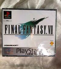 NEW Sealed Final Fantasy VII Pal Play Station platinum