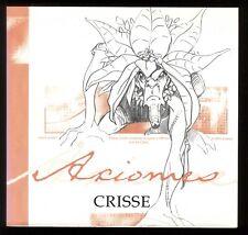CRISSE  AXIOMES    TL 1000 ex n° et signé + EX LIBRIS n°+ s  Ed. Clair de Lune