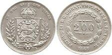 Brasilien, 200 Reis 1865