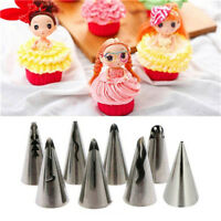 7Types Russian Icing Piping Nozzles Tips Cake Decorating Sugarcrafts Pastry Tool