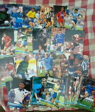 TOPPS STADIUM CLUB FOOTBALL TRADE CARDS 118 VARIOUS CARDS + Check list