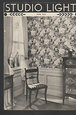 Studio Light Magazine Photography Eastman Kodak June 1936 Furniture