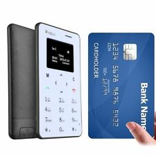 MIni Q2 : Lightest, Lowest Radiation Slim Credit Card Size GSM Phone Mobile