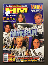 HM AUSTRALIAN MUSIC MAGAZINE Issue #82 1996 Metallica / Fear Factory / KISS