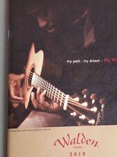Walden Acoustic Guitars 2010 Sales Catalog Brochure 35 Pages WORLDWIDE