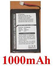 Batería 1000mAh tipo 1UPF383450-TBF K33A 0412 Para Toshiba Gigabeat MES60VK