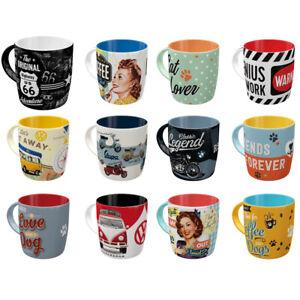 330ml Vintage Style Design Mugs | Choice of Design