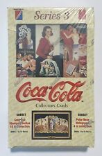 1994 Collect-A-Card COCA-COLA series 3 card box from a sealed case