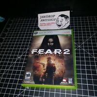 (REPLACEMENT CASE ONLY) FEAR 2 PROJECT ORIGIN XBOX 360 F.E.A.R. 2 PO (NO GAME)