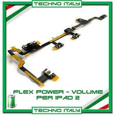 FLAT FLEX TASTO ACCENSIONE ON/OFF VOLUME VIBRAZIONE POWER PER IPAD 2 3G WI FI