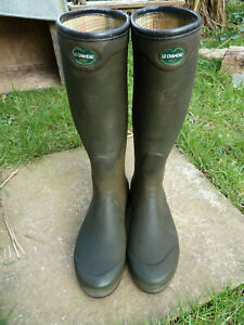 Le Chameau Wellingtons Size UK 10 44 Good Used Condition Some Colour Fading