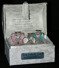 Creative Crystal Glass Guardian Angels Poem Box Gift Mother Mom Mam Mum CG4