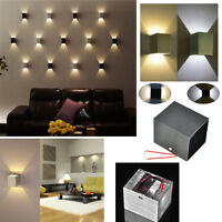Modern 3W Wall Light Up & Down LED Sconce Lighting Lamp Indoor Cool /Warm White
