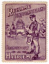 (I.B) Netherlands Cinderella : Advertising Exhibition (Haarlem 1909)