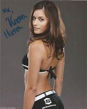 UFC Sexy Ring Girl Vanessa Hanson Autographed Signed 8x10 Photo COA D