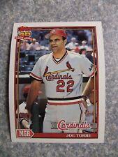 L#606 1991 Topps #351 Joe Torre, St. Louis Cardinals.  NrMt condition