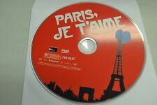 Paris, Je T'aime (DVD, 2007)Disc Only Free Shipping