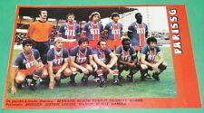 RARE CLIPPING FOOTBALL 1977 1978 PARIS SAINT-GERMAIN PSG RTL