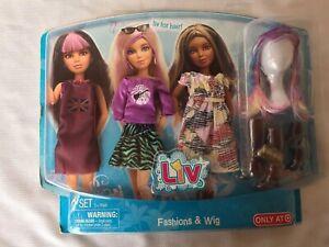 Liv 2010 Fashions, Wig 09' NRFP! Target Exclusive! WOW!