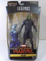 """Captain Marvel Legends TALOS 6"""" Figure BAF Kree Sentry LEFT LEG Part NEW TOY MIB"""