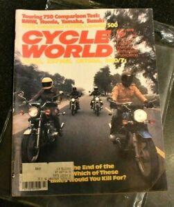 Cycle World July 1978 VTG street bike touring motorcycle mag BMW Honda Suzuki
