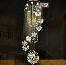 Crystal Light Chandelier Ceiling Villa Living Room Stairs Lighting Fixtures Lamp