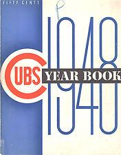 1948--CHICAGO CUBS (CAVARETTA-PAFKO)--ORIGINAL YEAR BOOK--XLNT