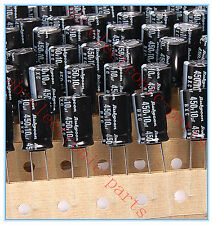 (100pcs) 10uf 450v Rubycon Radial Electrolytic Capacitors 10x16mm 450v10uf BXC