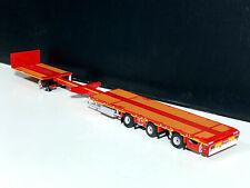 "extendable flatbed megatrailer 3 axle ""Nooteboom"" WSI truck models"