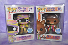 """Funko MONSTER CEREALS """"YUMMY MUMMY"""" #07 & """"FRUIT BRUTE"""" #06 LE 2500  ~ BOX#4"""