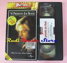 film VHS cartonata VI PRESENTO JOE BLACK A. Hopkins B. Pitt  1998 (F7 * ) no dvd