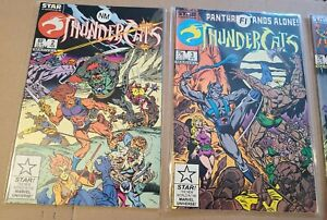 Thundercats #2 3 4 / Star Comic Book (Lot of 3!) Marvel (65 cents + Care Bears)