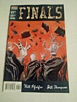 Finals #4 December 1999 DC Vertigo Comics Pfeifer Thompson