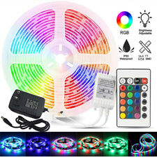 LED Strip Light SMD 2835 RGB and Mini 24Key Remote Controller /12V Power Supply