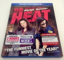 The Heat (Blu-ray Disc, 2013, 2-Disc Set) with Slipcover!