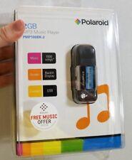 DEADSTOCK NOS POLAROID 2GB MP3 PLAYER SEALED NEW pmp100bk-2