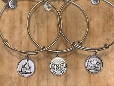 Alex & Ani Disney Set Epcot, Animal Kingdom, Castle
