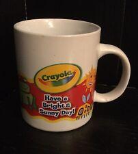 Crayola Crayon Bright Sunny Day Sun Frog Bug Tea Cocoa Coffee Mug Cup 2009