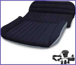 SUV Air Mattress DTOWER Car Inflatable Thickened Bed Portable Camping Outdoor W