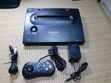 NEO GEO Neogeo AES Console System NEO-0 set Tested Work 01A