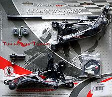 Estriberas Racing Valtermoto Tip 1.5 para Yamaha YZF R6 600 2003 2004 2005 Pey33