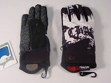New Reusch Alpine Ski Freestyle Board Gloves Adult Medium (8.5) Skull  #2792122