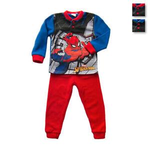 Pigiama bambino Spiderman Marvel in Pile MV16159 V388