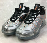 Nike Air Max MX 720 818 GS Silver & Black Running Shoes CQ4010-001 Sz 3Youth NEW