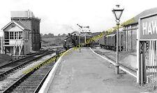 Hawkhurst Railway Station Photo. Cranbrook and Paddock Wood Line. SE&CR. (4)
