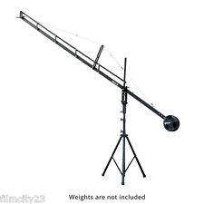 Proaim 14' Jib Arm Video Film Camera Crane Stand Case fr Pan Tilt DV HDV DSLR