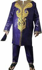 Dashiki Pant Suit African Mens Traditional Ethnic Clothing Pant Set Free Size