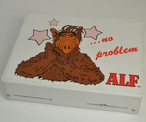 ALF Kassetten Koffer für 30 Kassetten MC -  Vintage 1988