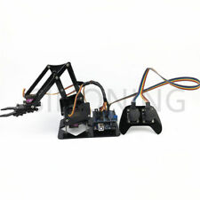 4DOF manipulator arduino Robotic arm remote control ps2 mg90s
