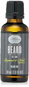 The Art of Shaving Beard Oil for Men, Bergamot & Neroli, 1 Ounce
